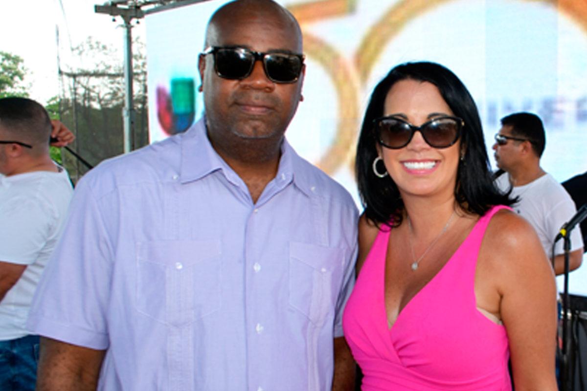 Alcalde de Newark, NJ, Ras Baraka y Vice-Alcaldesa, Jacky Quiles en el 4to Festival Latino de Newark