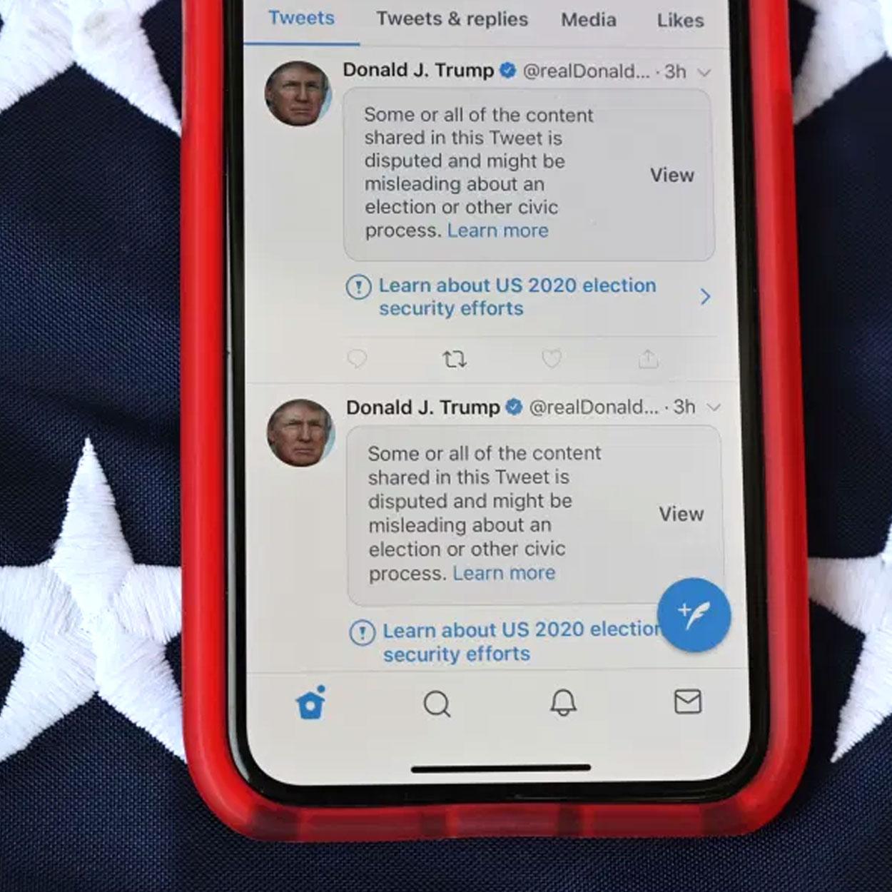 Trump lanzará pronto su propia red social.