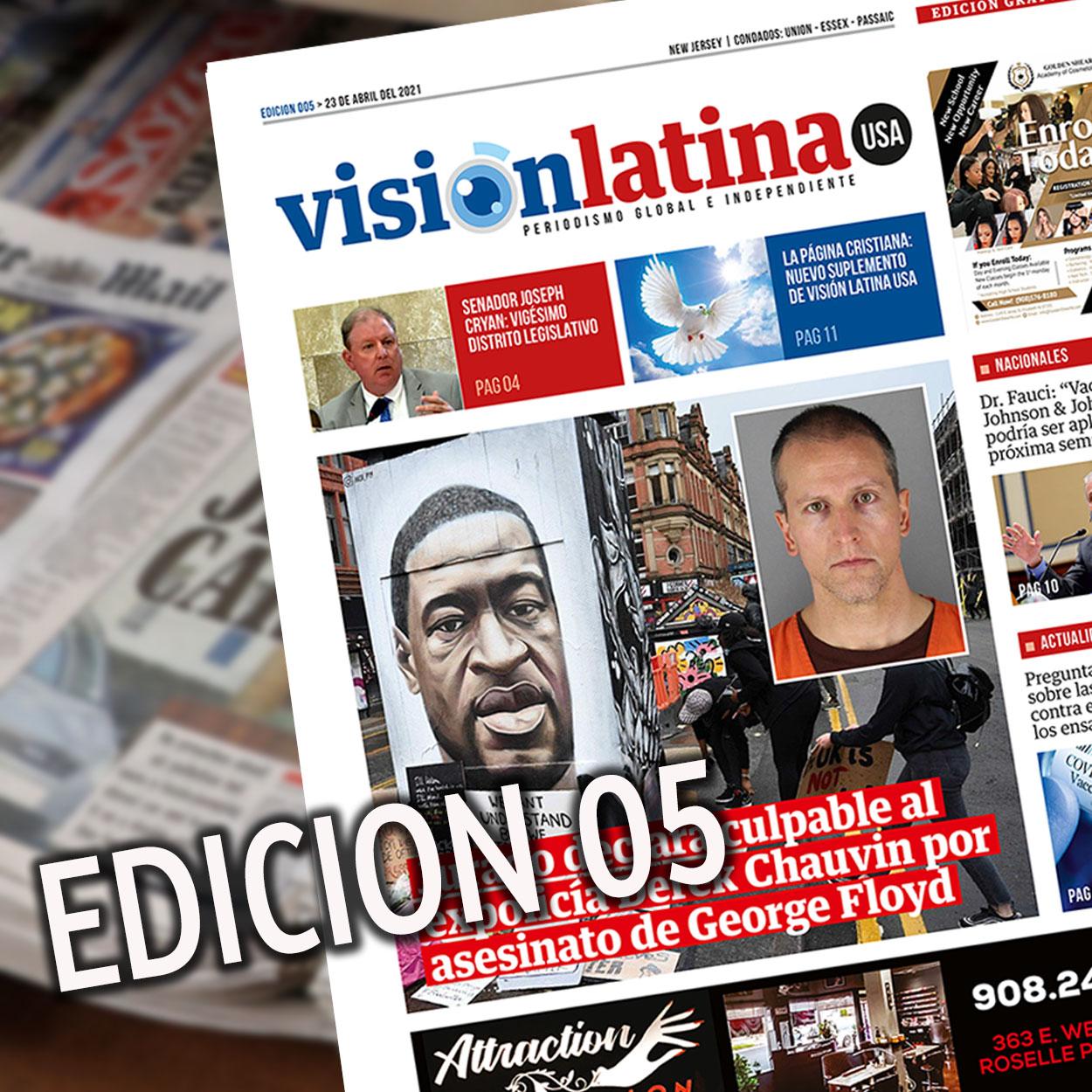 Edición Virtual 05 Vision Latina USA